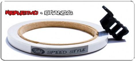 Adesivo Frisos de Roda Speed Style (Branco (Refletivo))
