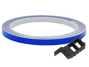 Adesivo Frisos De Roda Speed Style (Azul (Refletivo))
