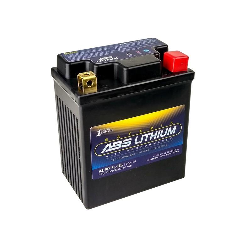 Bateria ABS Lithium Alfp 7l-Bs Honda BIZ 125+ 125 ES 06 ED CBR 300 CBX 250 Twister XR 250 Tornado 01 ED Fancon 99/08 Lead 110 Yamaha XTZ 250 Lander (Geral)
