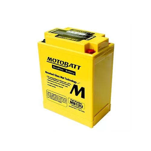 Bateria Motobatt Mb12u 12v/15ah (4 Pólos)(Comp:135/Larg:80/Alt:161) CB 400/CB 450 Sr/Bmw Gs65