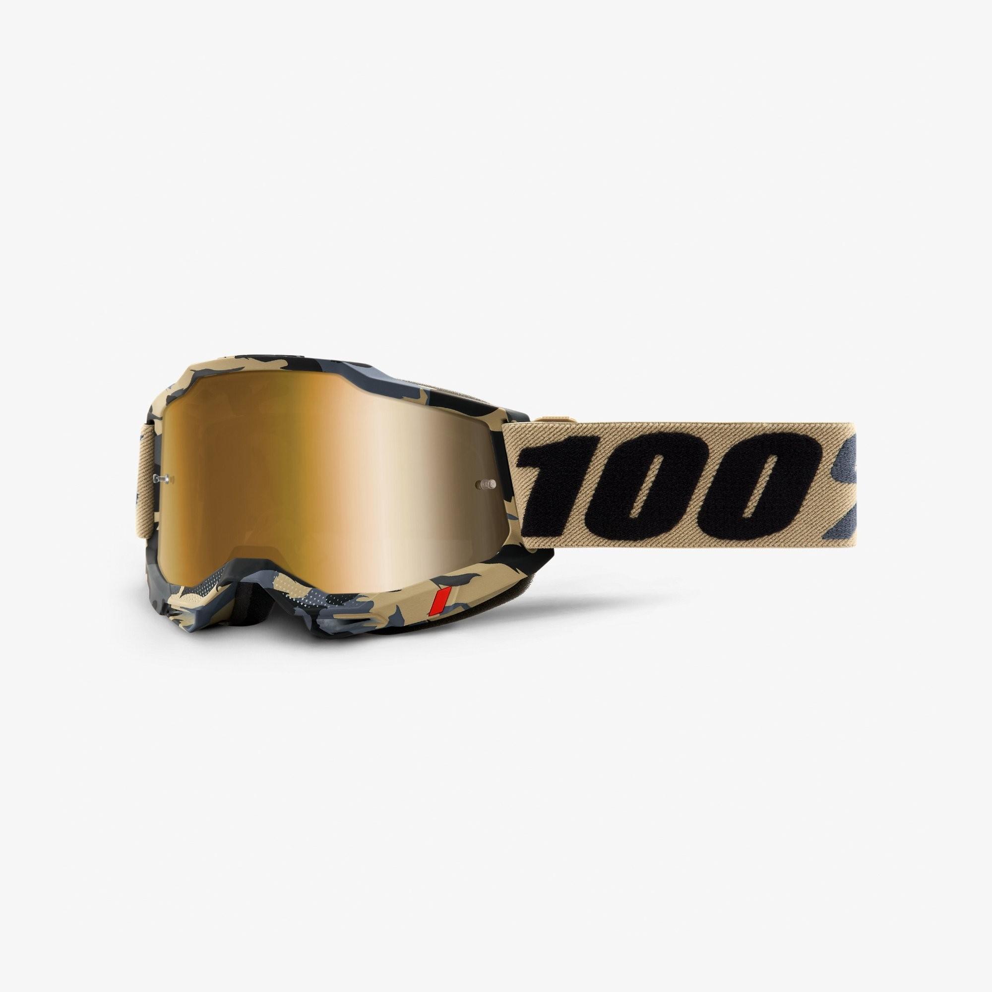 Óculos 100% Accuri 2 Tarmac Bege