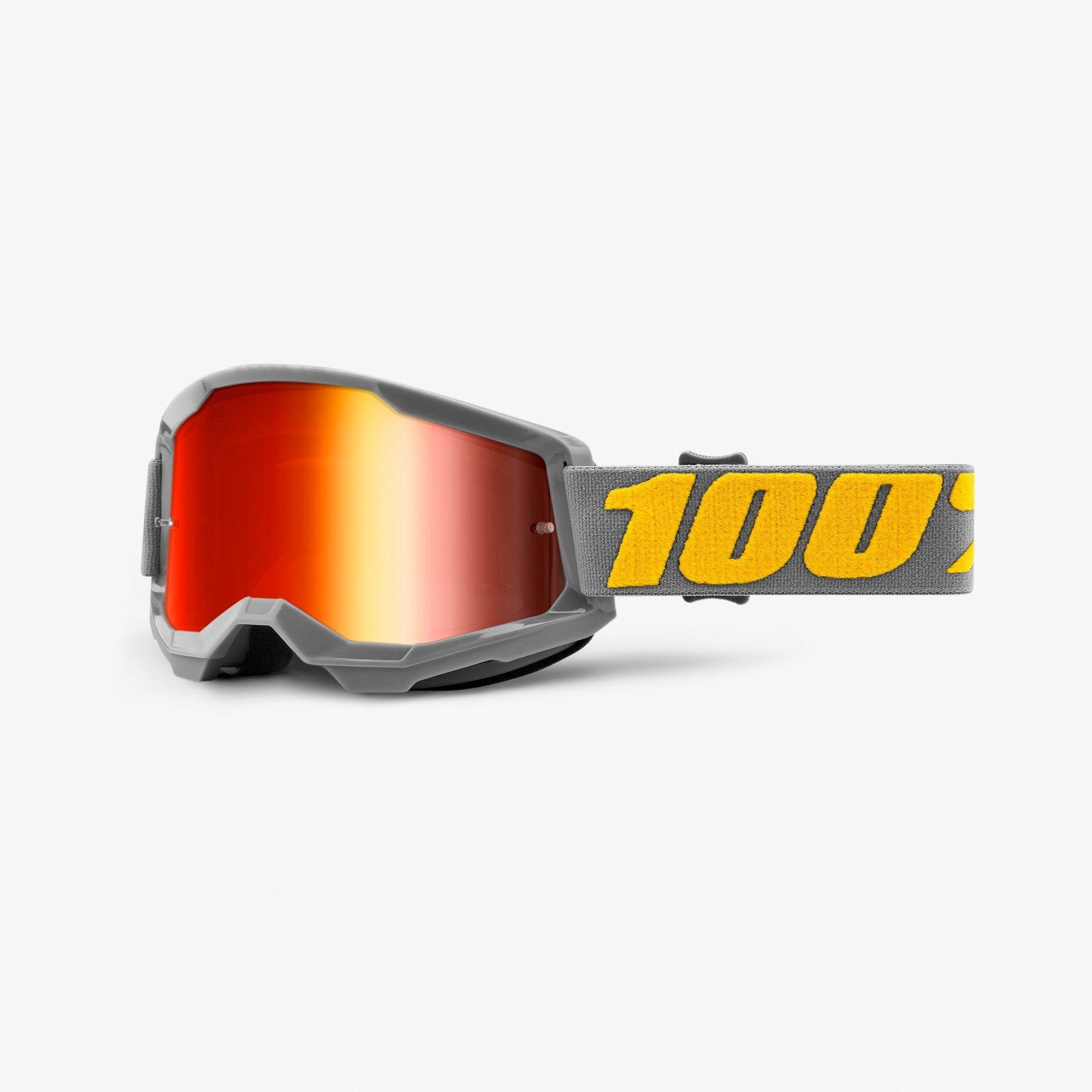 Óculos 100% Strata 2 Espelhado Izipizi Cinza