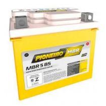 Bateria Pioneiro Mbr5-Bs 12v/5ah CG 125 Titan Kse/Fan/CG 150ks/Crf 230 NXR 125 Bros Es/Ks/NXR 150 Bros/Pop 100/ Titan 150 Ks/Tte 230