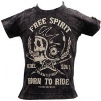 Camiseta Infantil Kallegari Born TO Ride Estonada