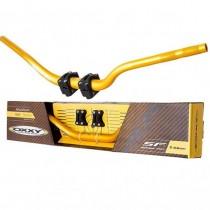 Guidão Alumínio Oxxy Fatbar Naked (Com Adaptador) Dourado 31,75mm (Médio)