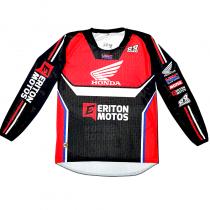 Camisa Eriton Motos Honda