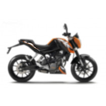 Carenagem Lateral Superior Traseira Direita KTM Duke 200