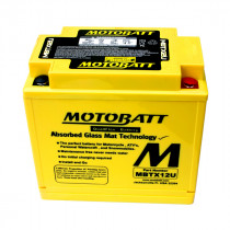 Bateria MOTOBATT MBTX12U 12v/12ah (4 Polos)