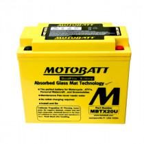 Bateria Motobatt MBTX20U 12v/20ah (4 Polos)