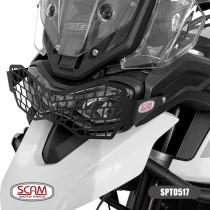 Protetor Farol Scam Aplicável Triumph Tiger 900 2020 (Aco Carbono)
